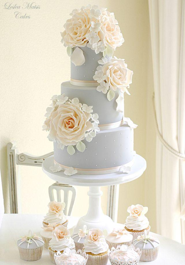 Wedding Cakes See More About Sugar Flowers Wedding Cakes And Rose Cake