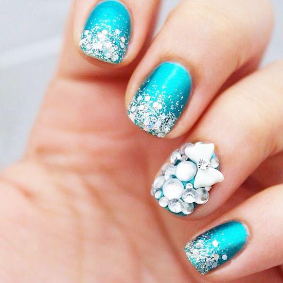 Glamorous wedding 26 glamorous nail art designs 2030388 weddbook 26 glamorous nail art designs prinsesfo Image collections