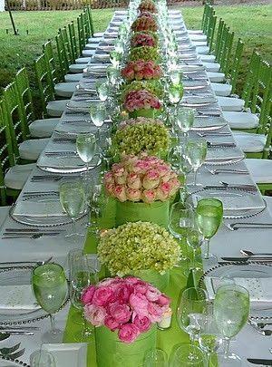 Hochzeit - Tischinszenierungen ... Table Settings