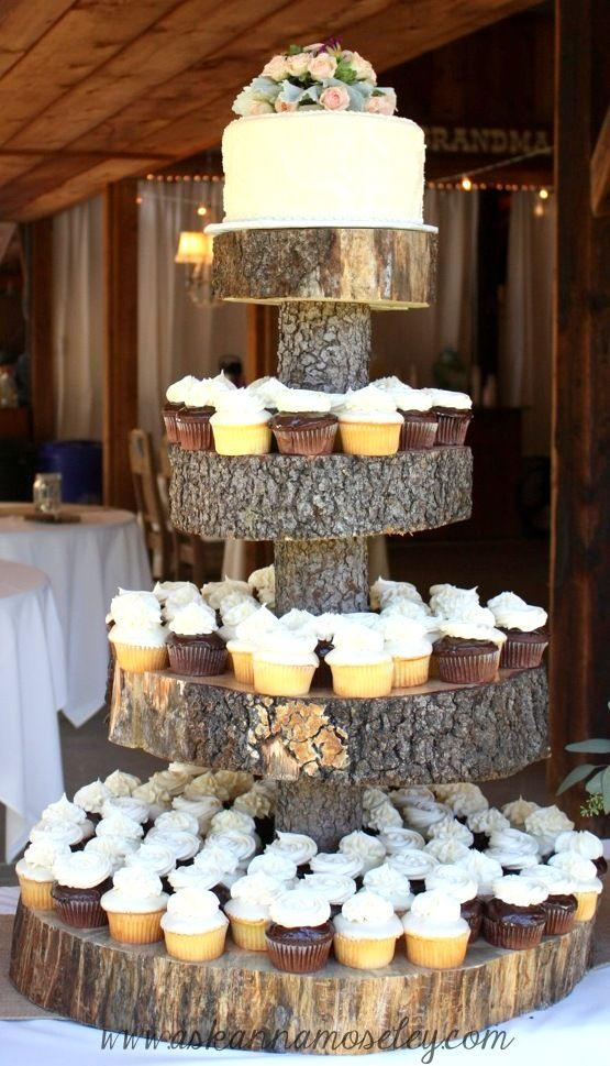 Wedding Cakes Tree Stump Cake Stand 2030591 Weddbook