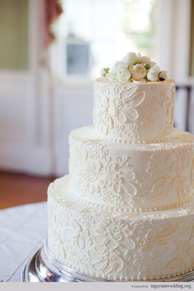 Vintage Wedding Wedding Vintage Lace Wedding Cake