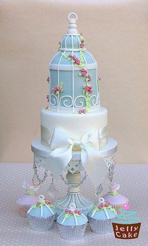 Wedding - Bird Cage Wedding Cake