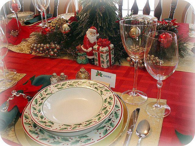 Hochzeit - Weihnachten Gedeck
