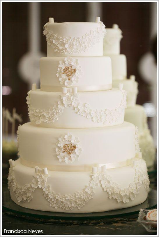 Mariage Dor Blanc Et Or Princesse Dessert Tableau
