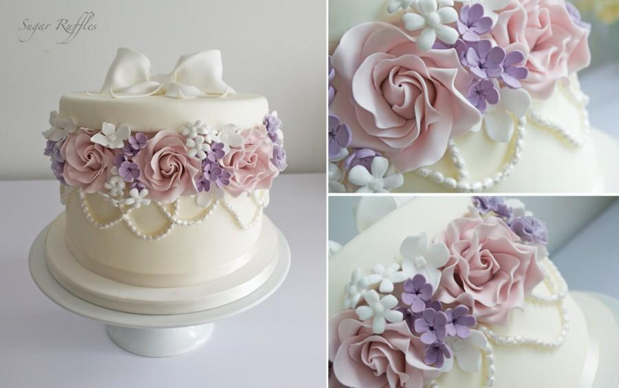 Свадьба - Поле Цветов Торт