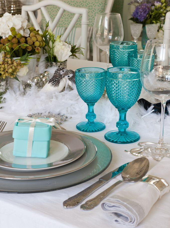 Wedding - Tiffany Blue Table