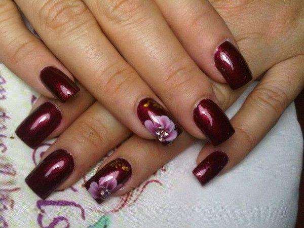 Wedding Nail Designs 22 Stylish Nail Art Designs 2031704 Weddbook