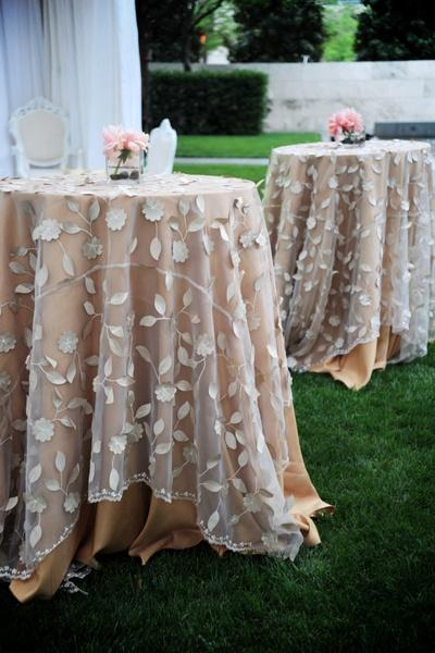 Amazing Lovely Overlays Table Linens