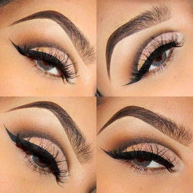 See more about eye makeup, brown eyes makeup and winged eyeliner.