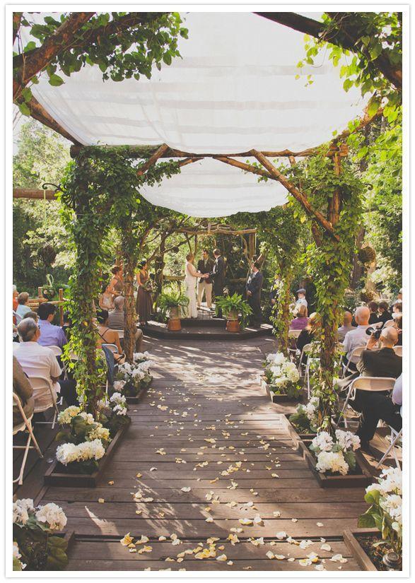 Wedding - Tented Garden Wedding