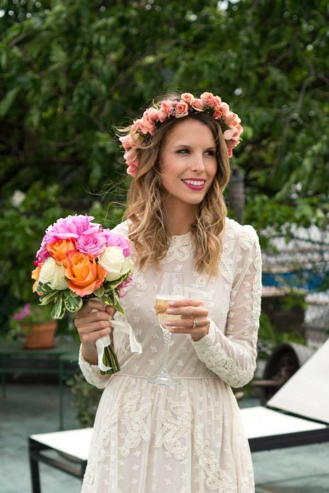 Bohemian Wedding - Flower Crown 9e3e9597862