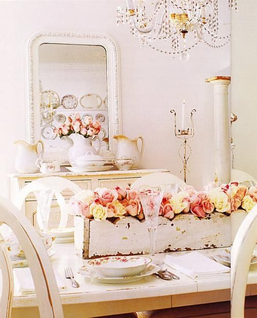 Shabby wedding shabby chic wedding decor 2032817 weddbook - Estilo vintage decoracion ...