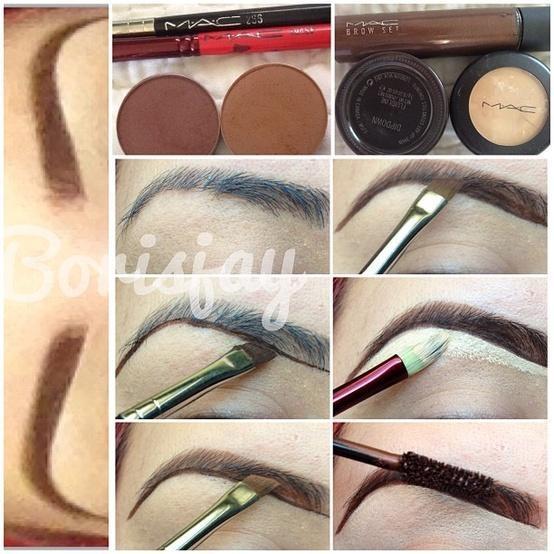 tutoriel maquillage des sourcils - Tuto Maquillage Mariage