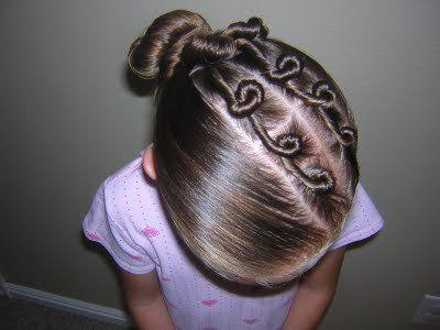 fotos de peinados con trenzas para nias