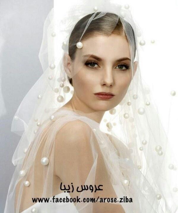 Hochzeit - Perle Veil