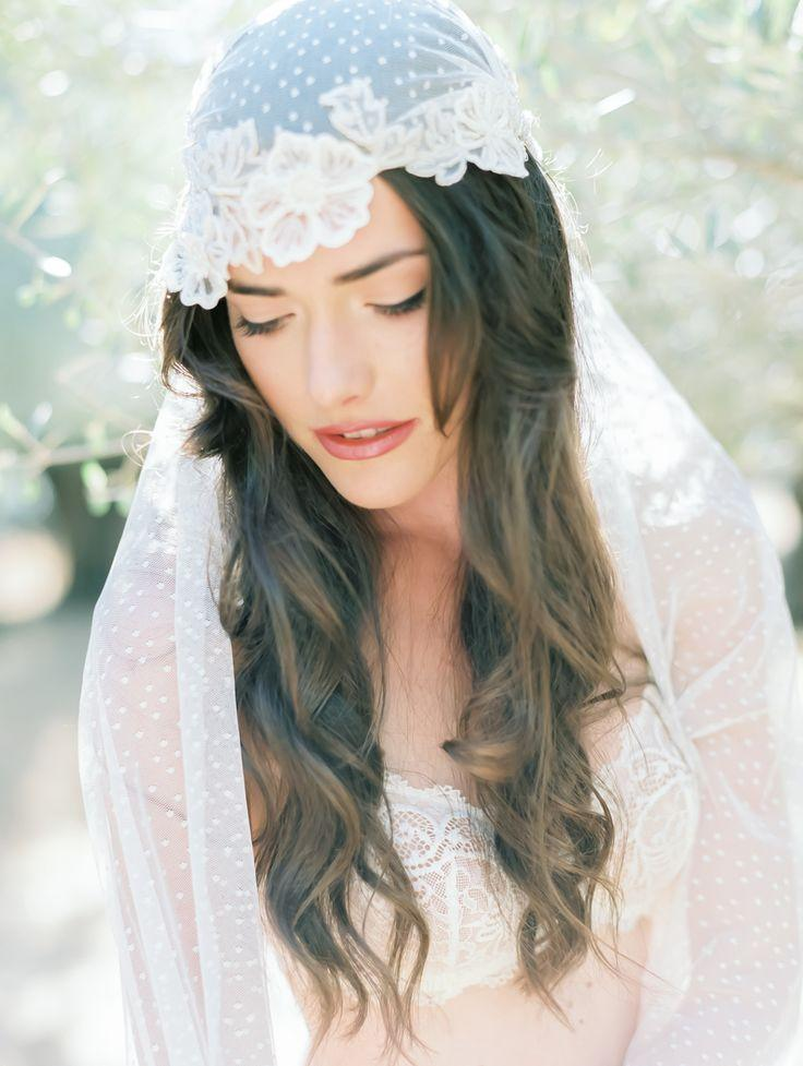 Wedding - Juliet Cap Veil // Coco Tran Photography