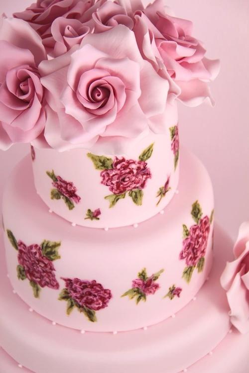 My Goodnesshow Pretty Pink Cake