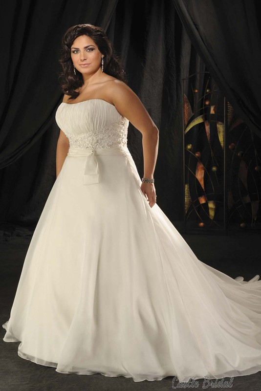 Boda - Plus Size Tulle Wedding Dress