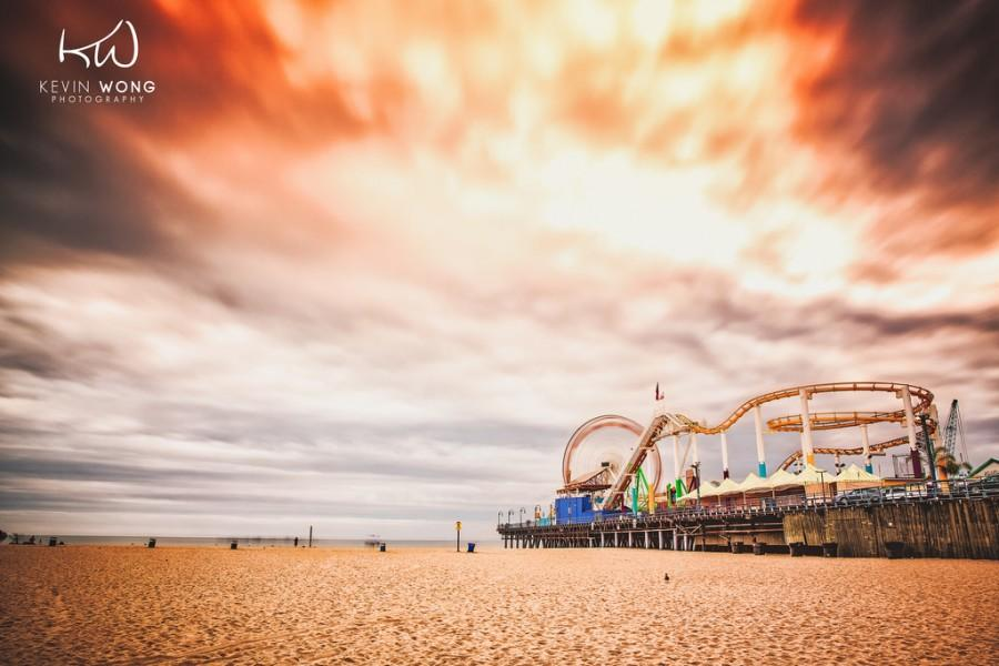 Wedding - Santa Monica Pier