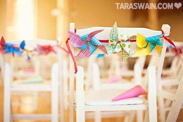 Свадьба - Свадебные Стул, Декор