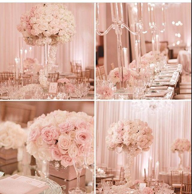 Blush And Gold Wedding Decor: Pink Wed. #2034650