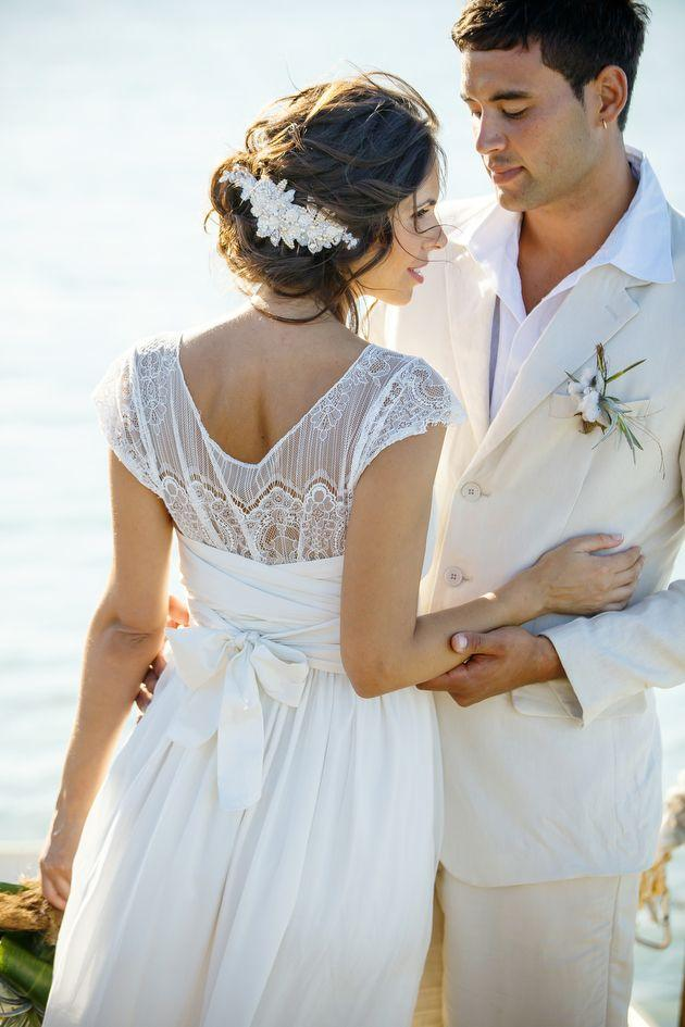 Wedding - Rustic Beach Wedding Inspiration Shoot In The Turks And Caicos