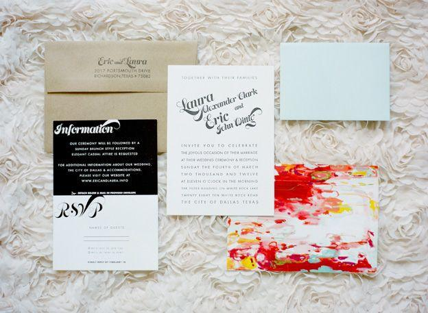 Wedding - INVITATIONS & SAVE THE DATE