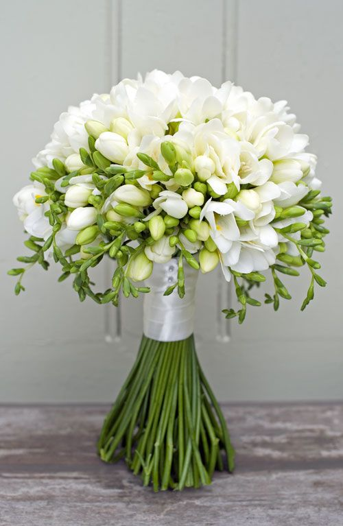 Wedding - Freesia Bouquet