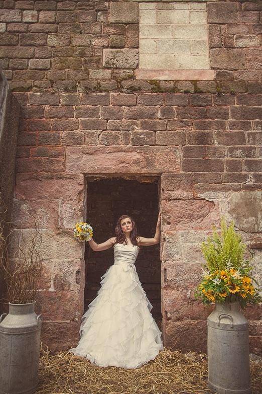 Wedding - Rustic Farm Wedding Photoshoot