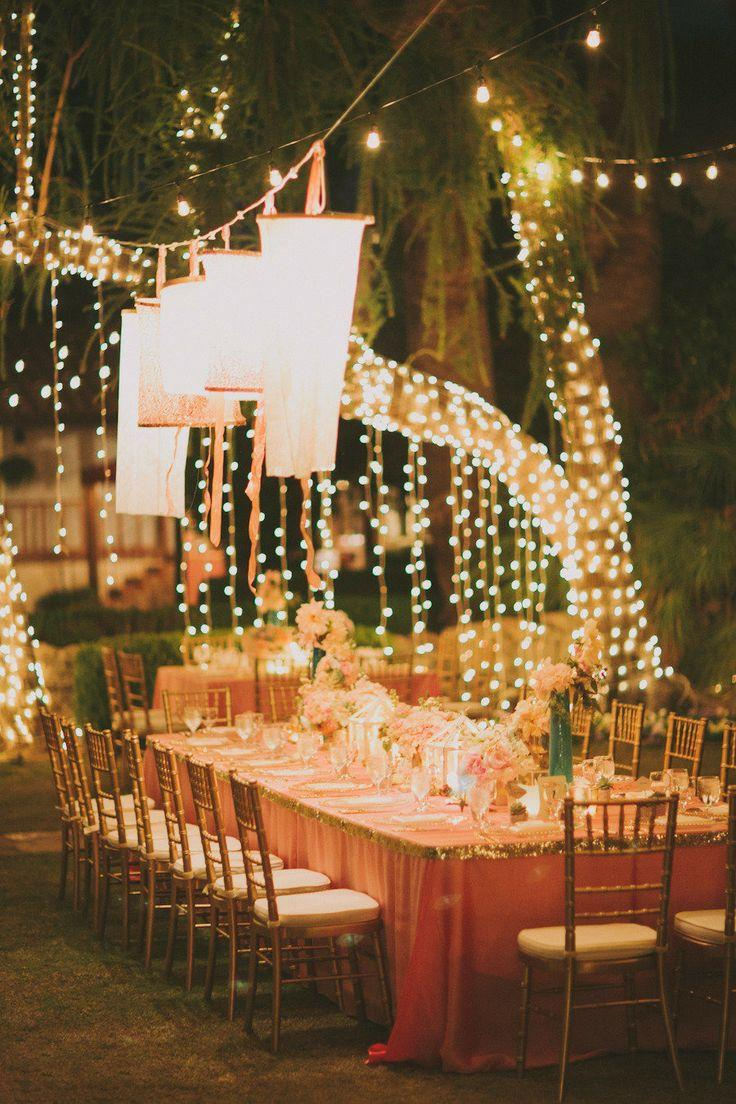 Best String Lights For Weddings : Wedding Lights - Romantic Al Fresco Lighting #2037227 - Weddbook