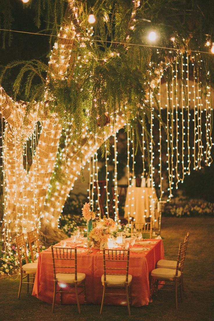 Tablescape ~ Hanging Lights & Wedding Lights - Tablescape ~ Hanging Lights #2037233 - Weddbook azcodes.com
