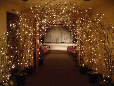 Wedding lights wedding inspiration arches 2037246 for Archway decoration
