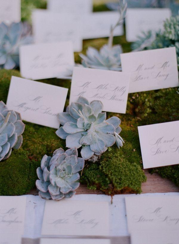 Свадьба - Элегантный И Естественное Место Карты
