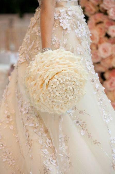 Unique Wedding Bouquet Ceci New York