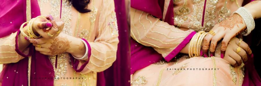 Mariage - Maryam Bilal Baraat Collage
