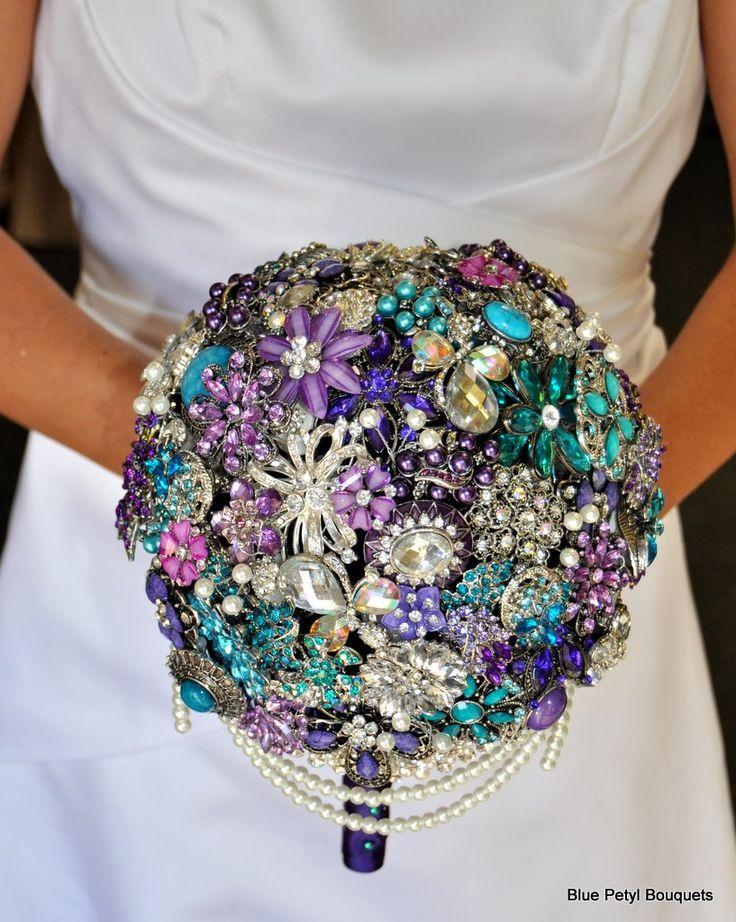 Wedding Bouquets Brooch
