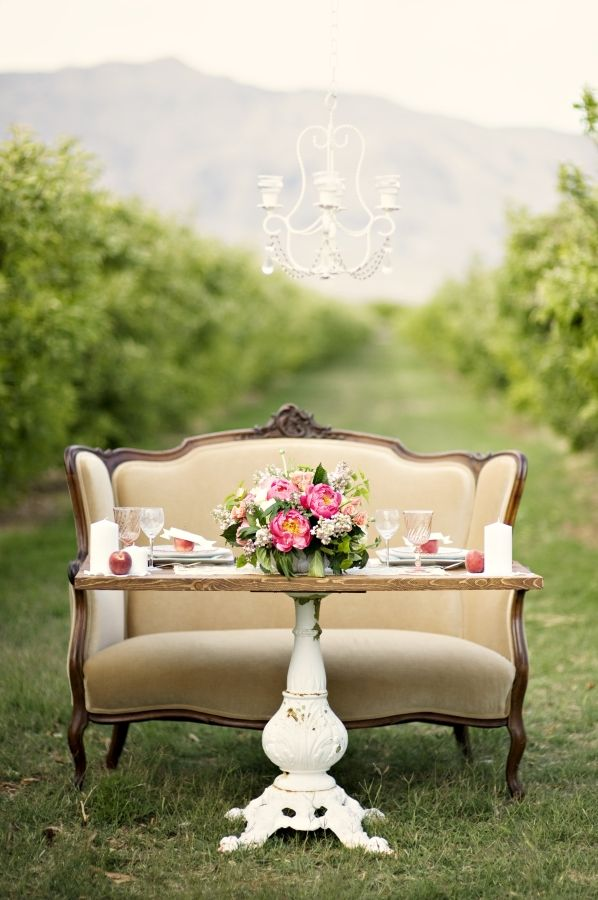 Vintage Wedding Table Decor Ideas Photograph | ... vintage t