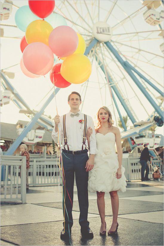 Mariage - Cirque mariage Shoot.