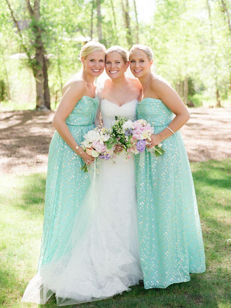 Mint wedding mint bridesmaids dresses 2038461 weddbook for Mint dresses for wedding