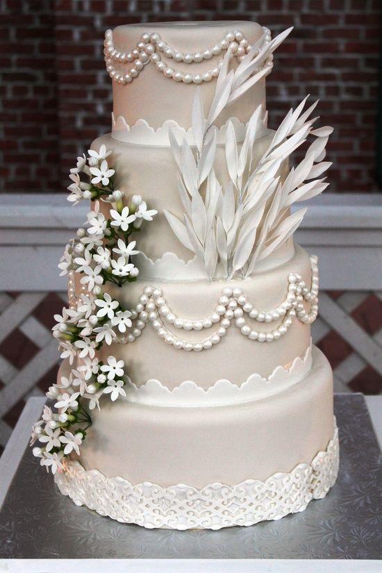 20s Hochzeit Great Gatsby Inspiriert Hochzeitstorte 2038675