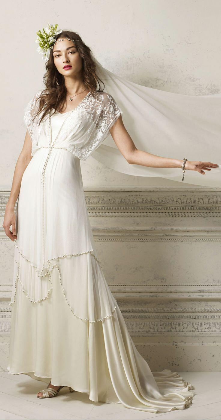 20s wedding gatsby inspired gown 2038872 weddbook for The great gatsby wedding dresses