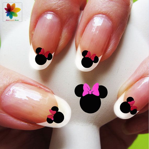 Disney Nail Art Cartoon Childrens Nail Art Mickey Mouse 100
