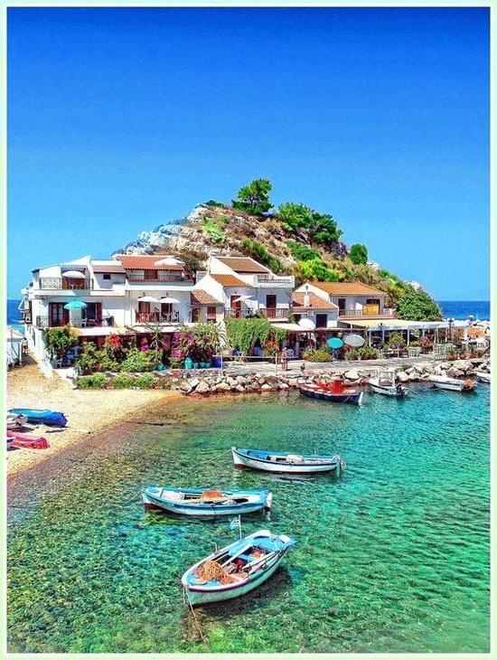 Свадьба - Самос, Греция