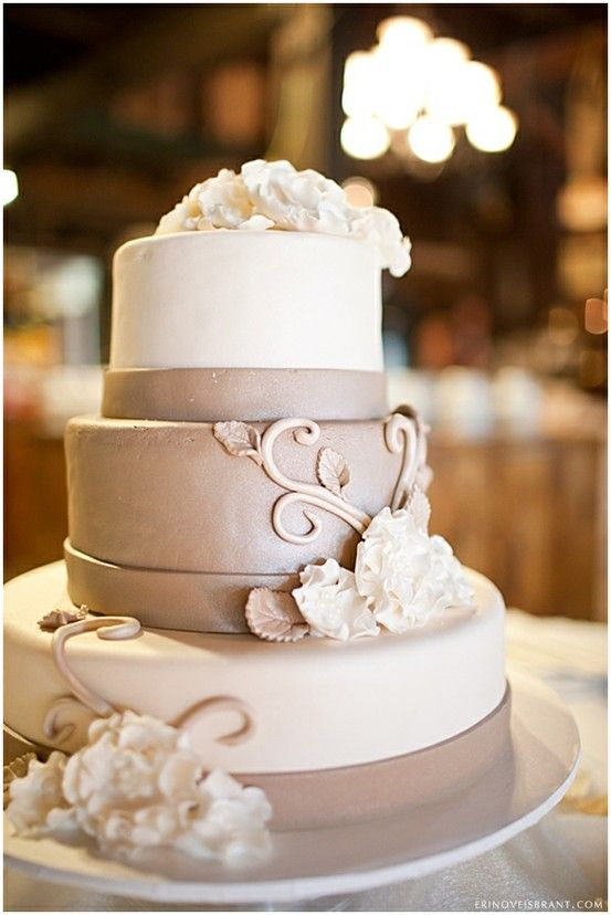 Cake Ideas For Small Wedding : Wedding Cakes - Wedding Cake Ideas #2040076 - Weddbook