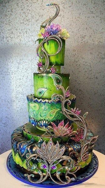 Gâteau De Mariage Unique Gâteau De Mariage De Luxe