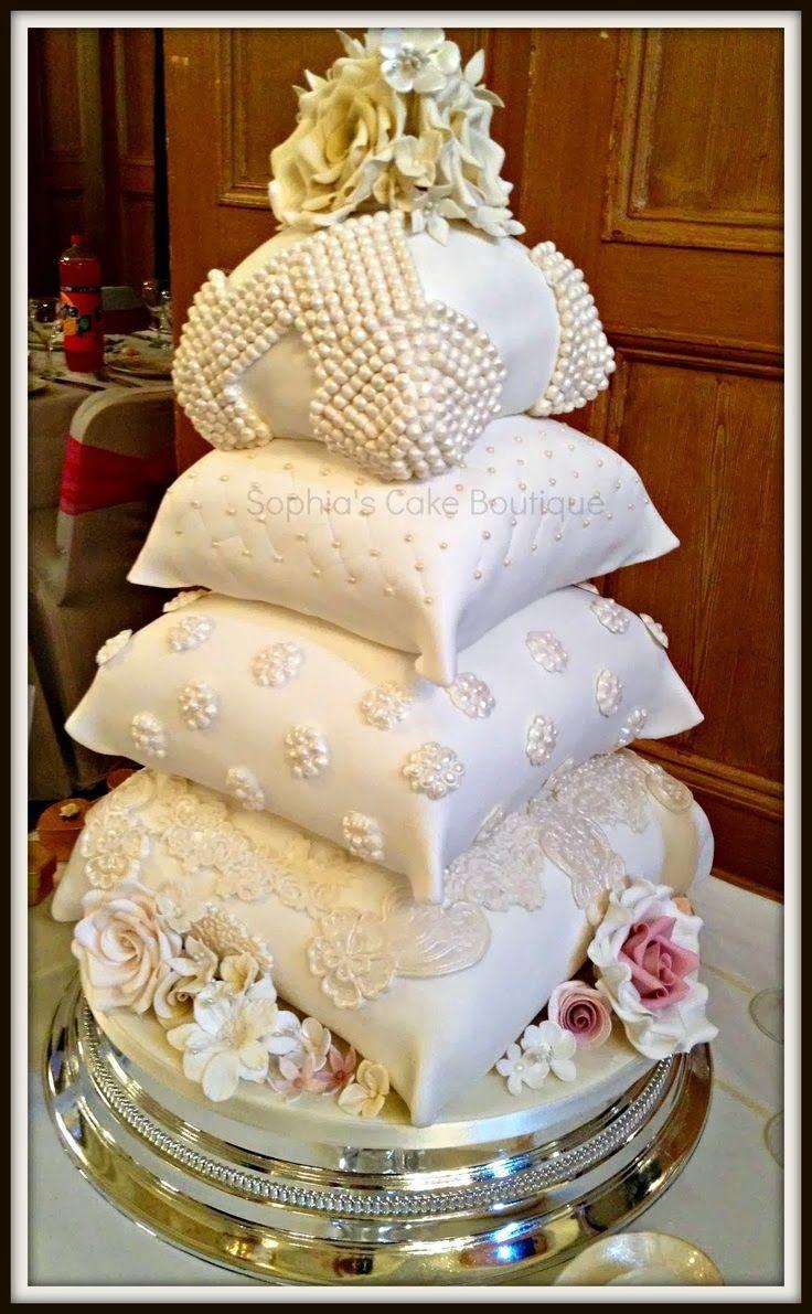 Gâteau De Mariage Unique Oreiller Gâteaux De Mariage