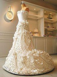 Hochzeit - Ja, es ist eine Hochzeitstorte!