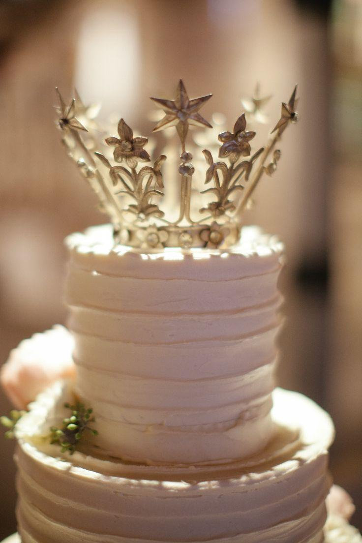 Cake With Crown On It : Cake Topper - Crown Cake Topper #2040133 - Weddbook