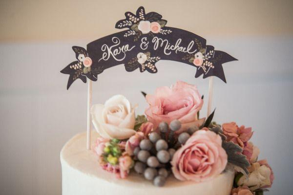 Mariage - Toppers gâteau de mariage