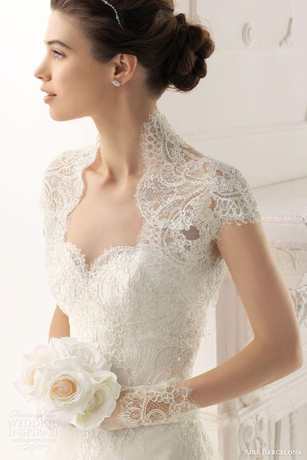 Dress wedding dresses 2014 2040280 weddbook for Wedding dress lace bolero